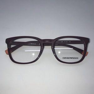 Emporio Armani Accessories - Emporio Armani 3118 Matte Bordeaux Eyeglasses